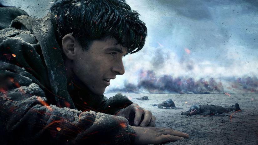 Una scena tratta dal trailer del film Dunkirk (Warner Bros)