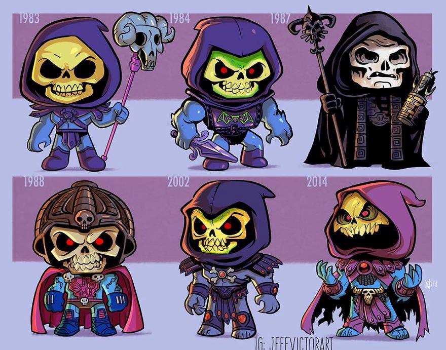 L'evoluzione delle icone della cultura pop: Skeletor