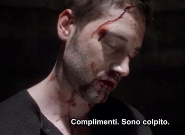The Blacklist: Redemption, Tom viene picchiato da Solomon