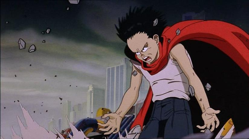 Akira, Tetsuo e i suoi poteri