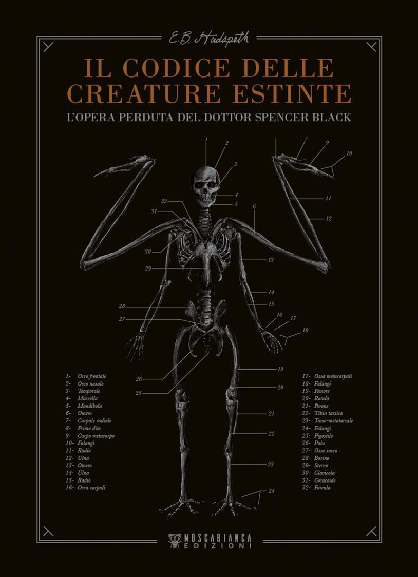 La copertina di Il codice delle creature estinte