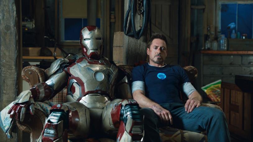 Robert Downey Jr. in una scena del film