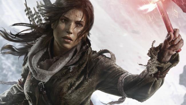 Lara Croft in Rise of the Tomb Raider: 20 Year Celebration