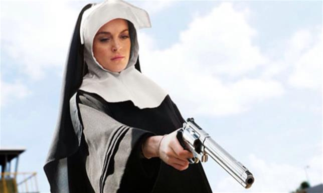 Lindsay Lohan in Machete