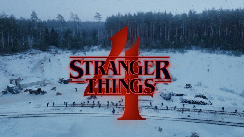 Immagine con la neve di Stranger Things 4