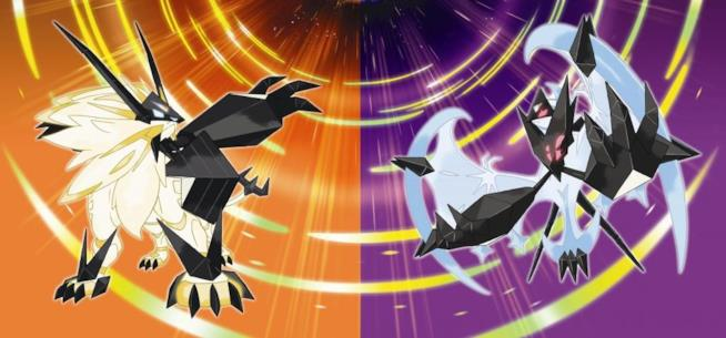 Pokémon Ultrasole e Pokémon Ultraluna in uscita il 17 novembre