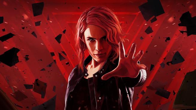 La protagonista del videogioco Control