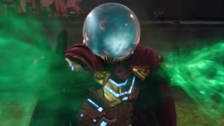 Un primo piano di Mysterio in Far From Home