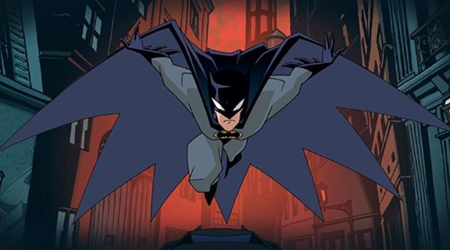 Batman in volo nel fumetto