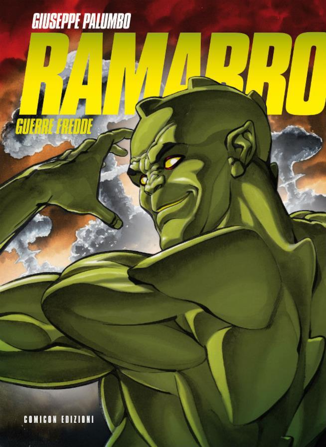La cover del fumetto Ramarro