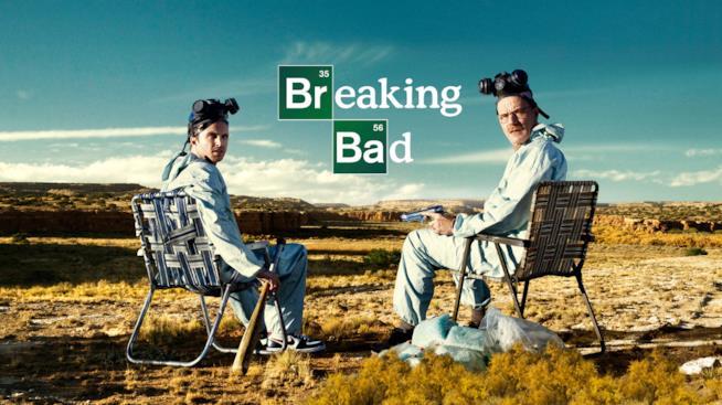I due protagonisti di Breaking Bad, Jesse e Walter