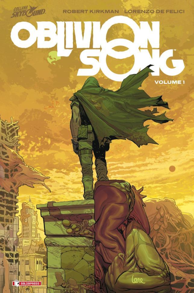 La copertina italiana del primo volume di Oblivion Song