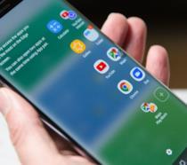 Schermo indistruttibile di Samsung