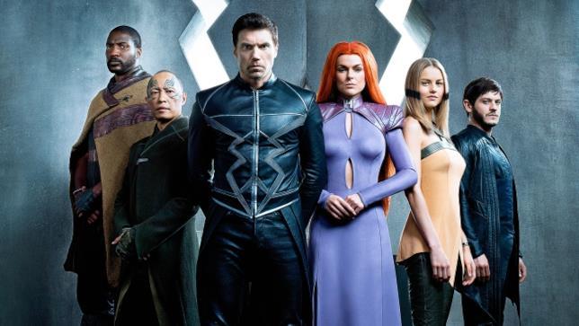 I protagonisti di Marvel's Inhumans