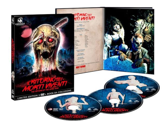 Il Ritorno dei morti viventi in DVD