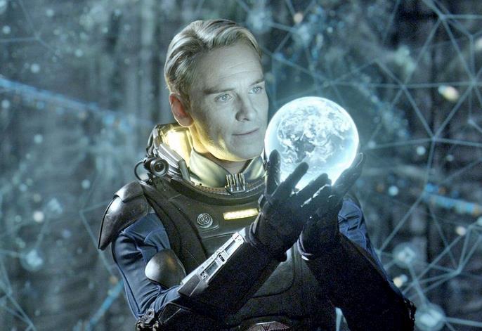 Alien: Covenant, il sintetico David interpretato da Michael Fassbender