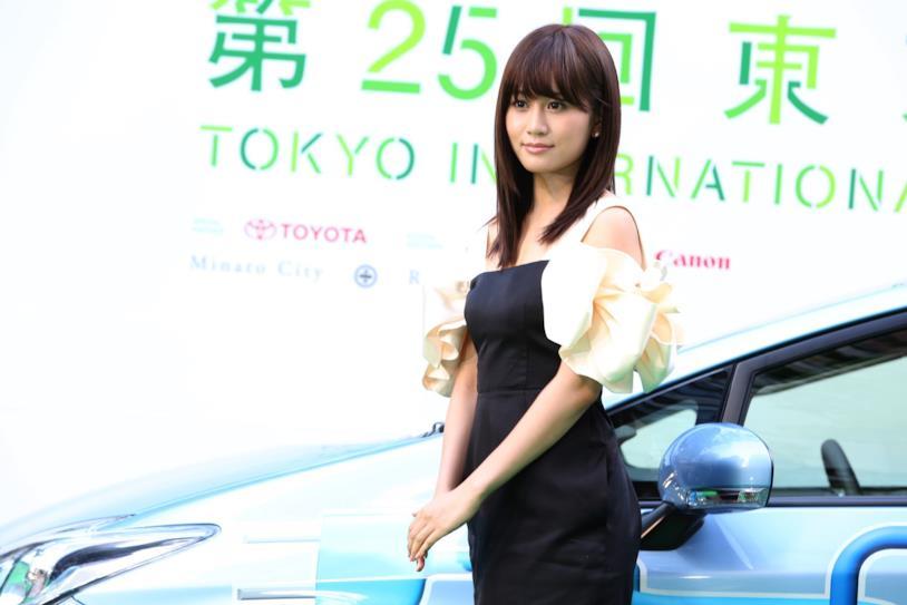 L'attrice Atsuko Maeda al Tokyo International Film Festival