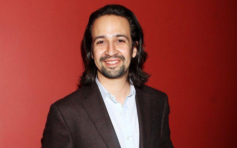 L'attore, compositore e paroliere portoricano Lin-Manuel Miranda