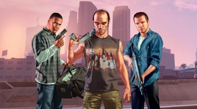 I tre protagonisti di GTA V
