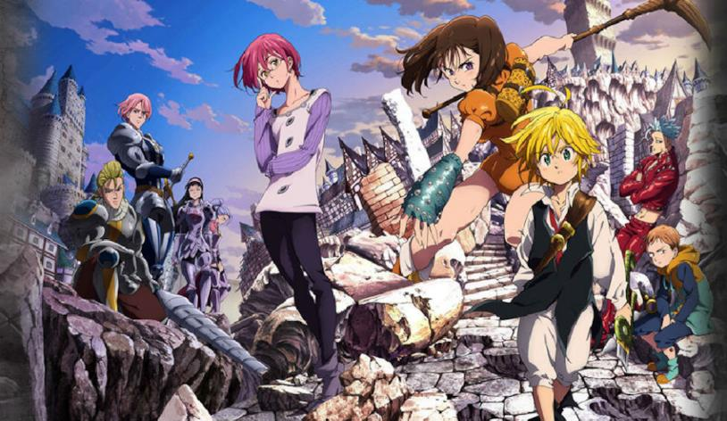 The Seven Deadly Sins protagonisti