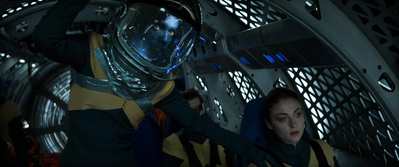Nightcrawler, Jean e gli altri X-Men in missione nello spazio