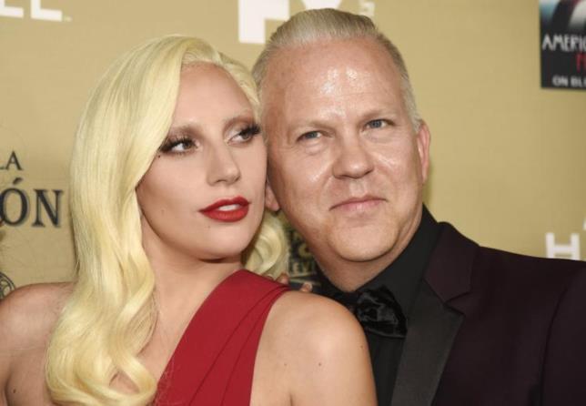 La popstar Lady Gaga e l'autore TV Ryan Murphy