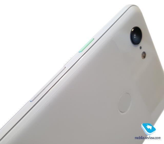 La parte posteriore del Pixel 3 XL