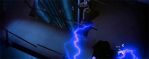 Gif di Darth Vader che uccide Palpatine