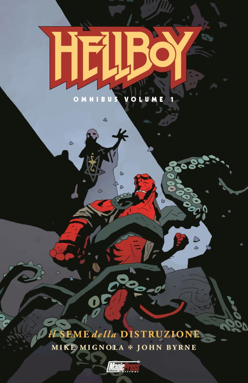Il primo volume della serie Omnibus di Hellboy