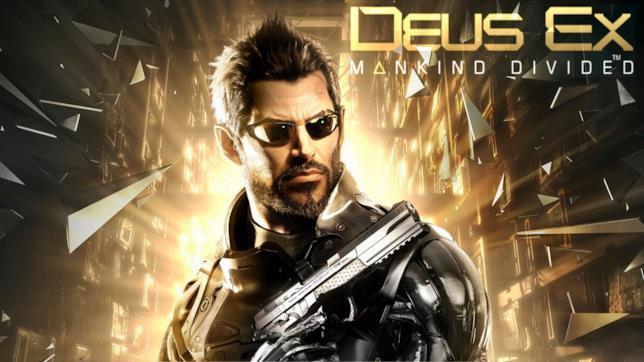 Cover di Deus Ex: Mankind Divided