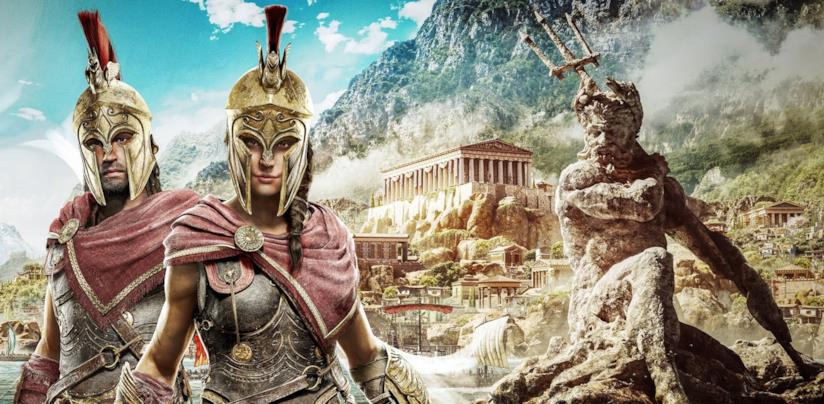 Alexios e Kassandra, protagonisti di Assassin's Creed Odyssey
