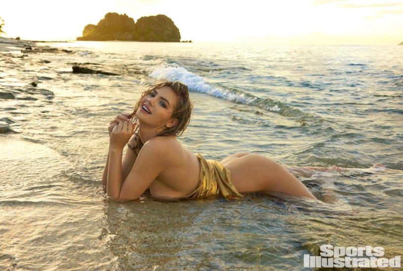 Uno degli scatti di Kate Upton per Sports Illustrated Swimsuit