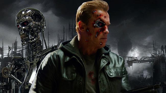 Terminator 2 scalzato da Baywatch