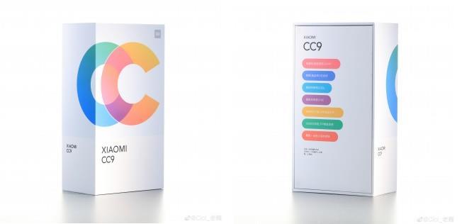 La presunta confezione di Xiaomi CC9