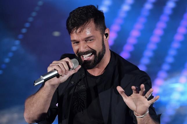 L'ospite Ricky Martin a Sanremo 2017