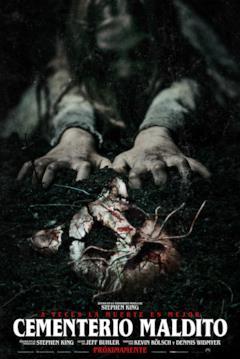 Il poster del film Cemeterio Maldito