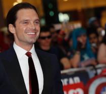Sebastian Stan alla prima londinese di Captain America: Civil War