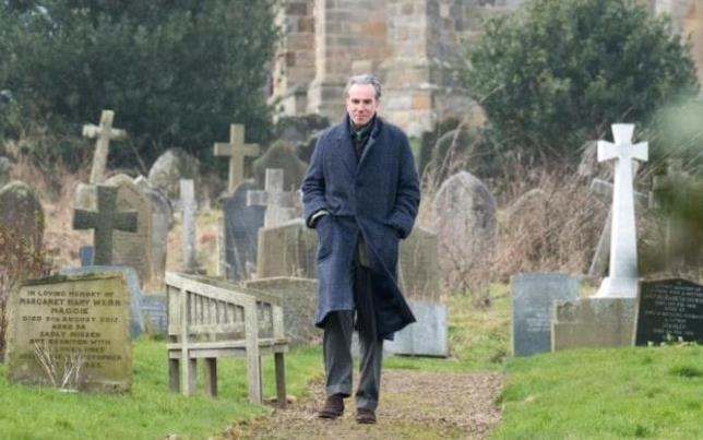 Daniel Day-Lewis in una scena di Phantom Thread