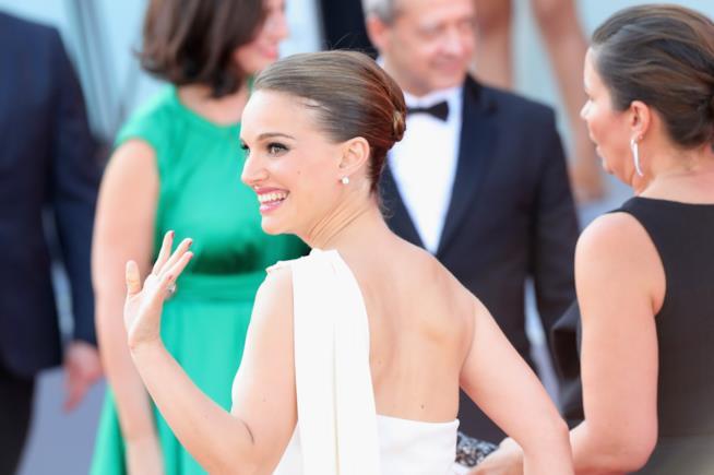 Natalie Portman incinta e in corsa per l'Oscar con Jackie
