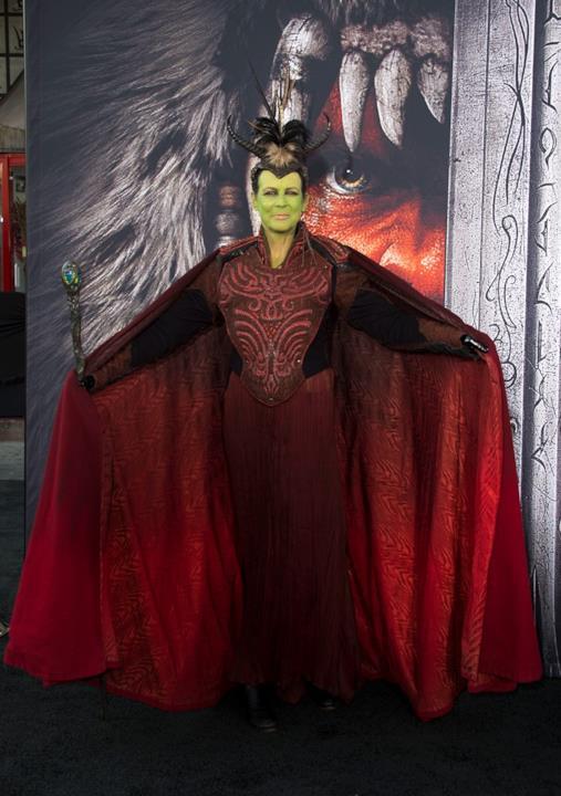 Jamie Lee Curtis alla prima evento del film Warcraft