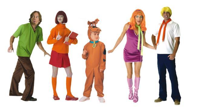 La Mistery Inc. al completo dal cartoon Scooby-Doo