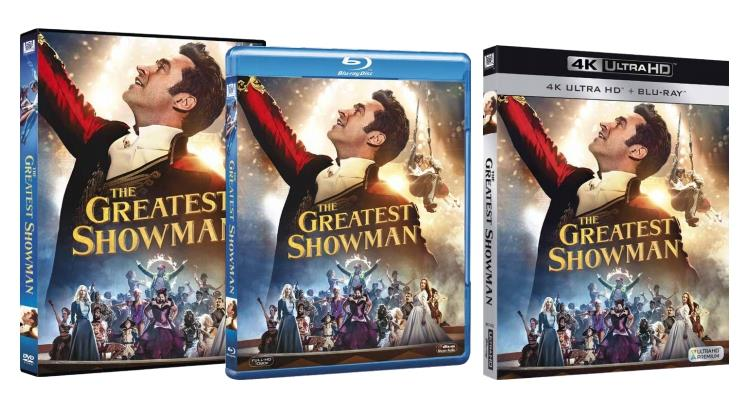 The Greatest Showman in Home Video