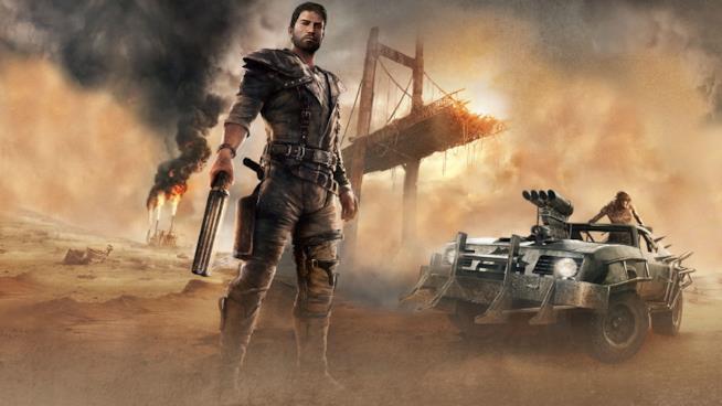 La copertina ufficiale del videogame di Mad Max