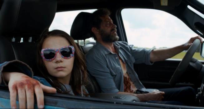 Logan e Laura insieme in Logan. X-23 è pronta per un solo movie?
