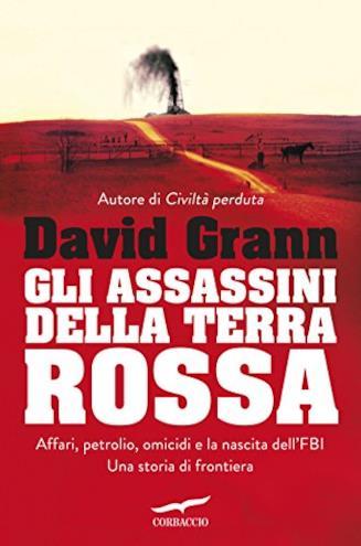 Copertina del libro Gli assassini della Terra Rossa