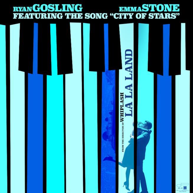 Cover Colonna Sonora - La La Land