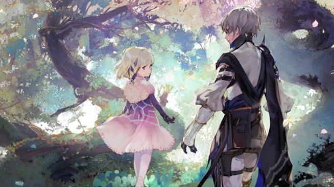 I protagonisti di Oninaki in un concept art del gioco