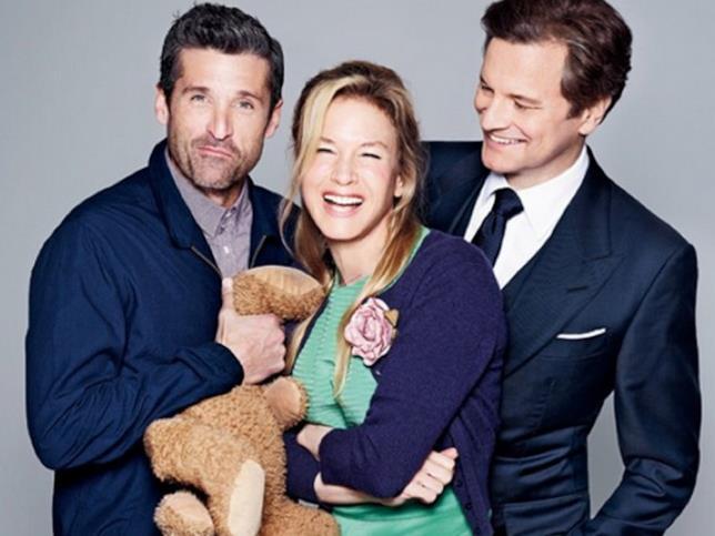 I protagonisti di Bridget Jones's Baby