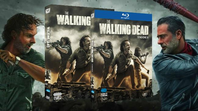 The Walking Dead 8 in Home Video