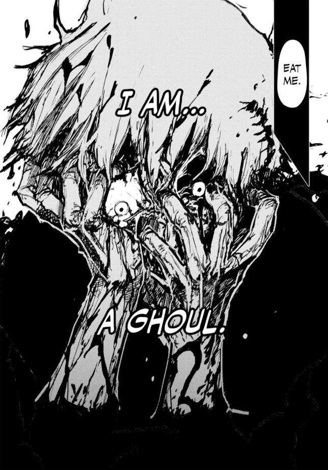 Kaneki nel capitolo 63 del manga